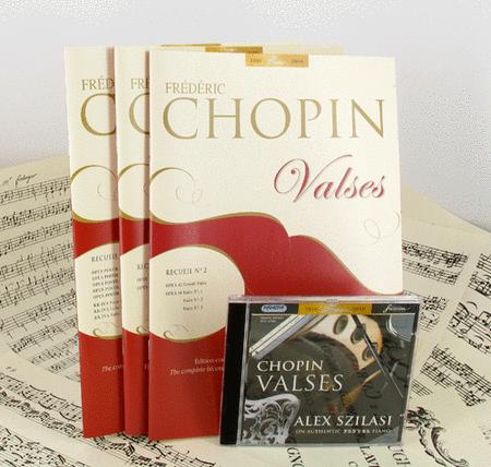Valses - Vols 1, 2 & 3 + CD
