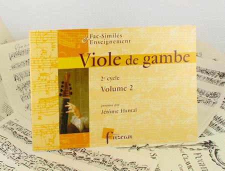 Viola da gamba - intermediate pieces - Volume 2
