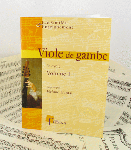 Viola da gamba - advanced pieces - Volume I