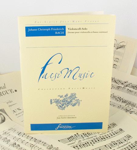 Sonata for cello and continuo - 1770