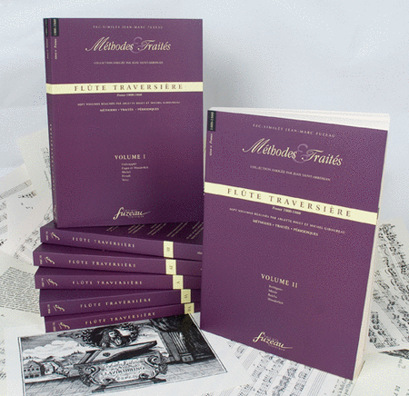 Methods & Treatises Flute - 7 volumes - France 1800-1860