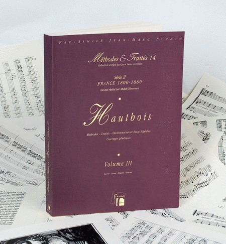 Methods & Treatises Oboe - Volume 3 - France 1800-1860