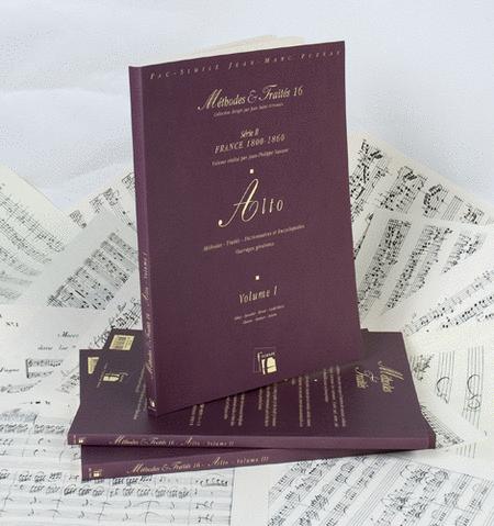 Methods & Treatises Viola - 3 Volumes - France 1800-1860