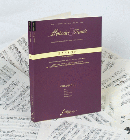 Methods & Treatises Bassoon - Volume 2 - France 1800-1860