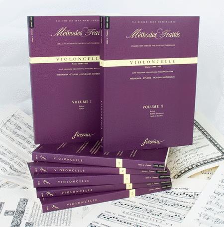 Methods & Treatises Cello - 7 volumes - France 1800-1860
