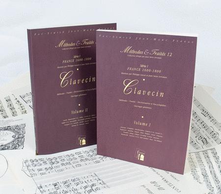 Methods & Treatises Harpsichord - 2 Volumes - France 1600-1800