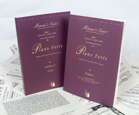 Methods & Treatises Fortepiano - 2 Volumes - France 1600-1800