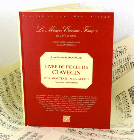 Book of harpsichord pieces