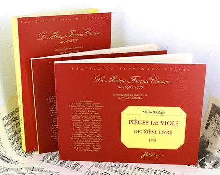 Pieces for viola da gamba book II continuo basses for book II - Viola da gamba