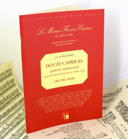 Twelve caprices for solo violin