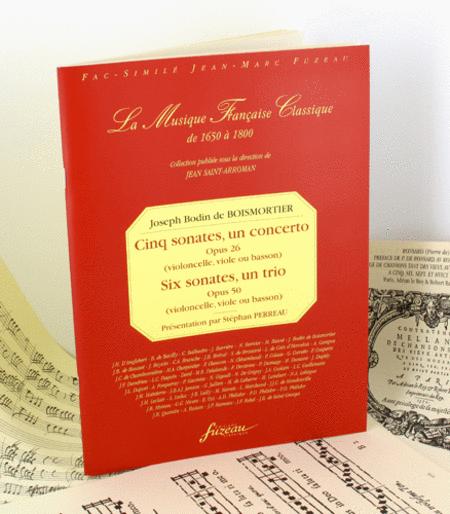 Five sonatas, a concerto (opus 26) - Six sonatas, one trio sonata (opus 50)