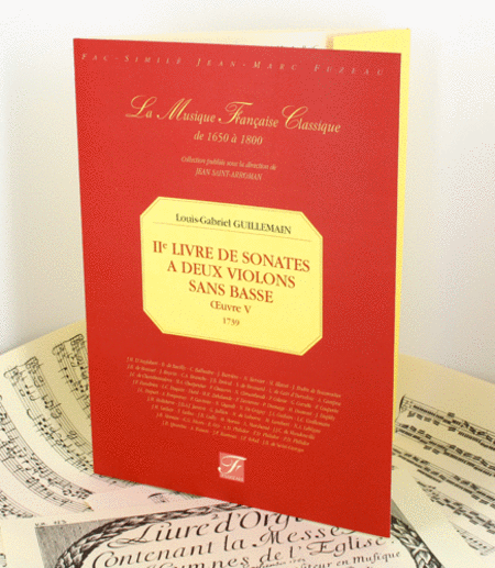 Second book of sonatas for two violins without bass. Opus V