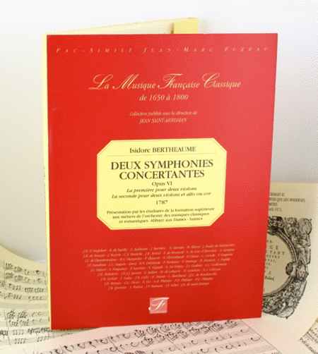 Two symphonies concertantes - opus VI