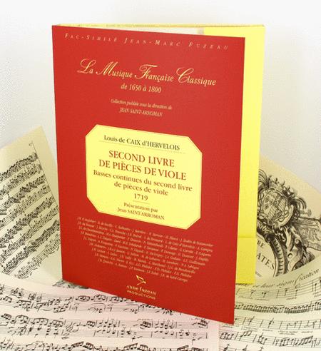 Second book for viola da gamba with continuo, Continuo basses of the second book for viola da gamba