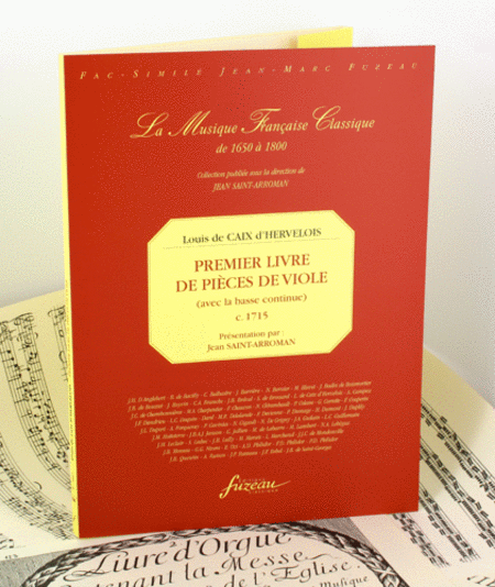 First book of pieces for viola da gamba with continuo