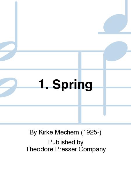 1. Spring