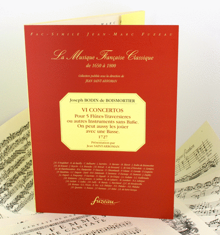 VI Concertos for 5 flutes or other Instruments