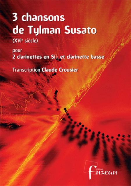 3 songs of Tylman Susato - Clarinet