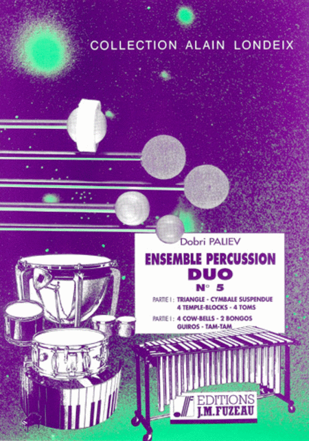 Ensemble percussion duo no.5