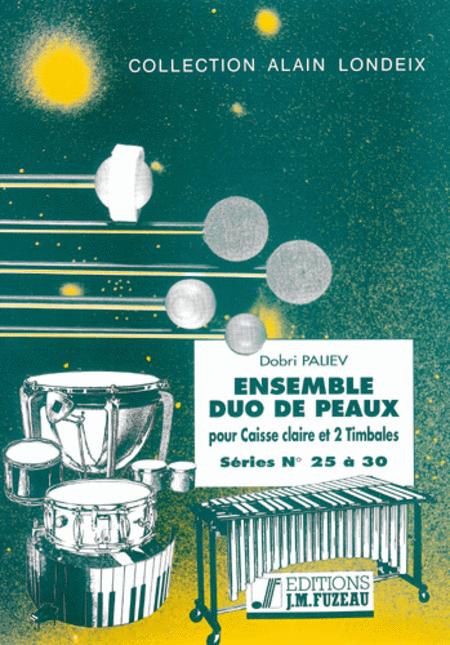 Ensemble duo de peaux - Serie 25 a 30