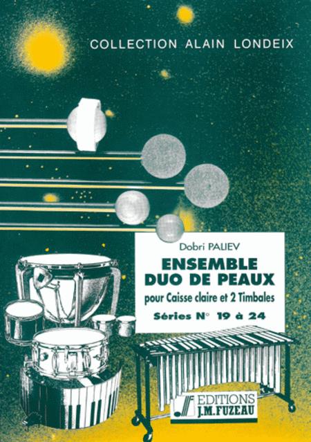 Ensemble duo de peaux - Serie 19 a 24