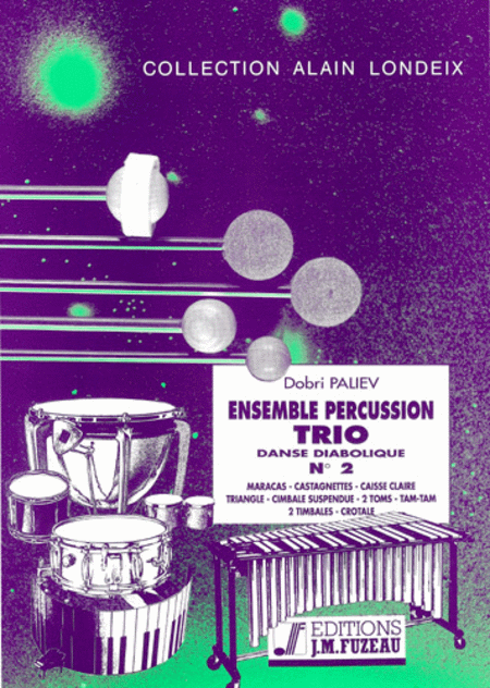 Ensemble percussion trio no.2