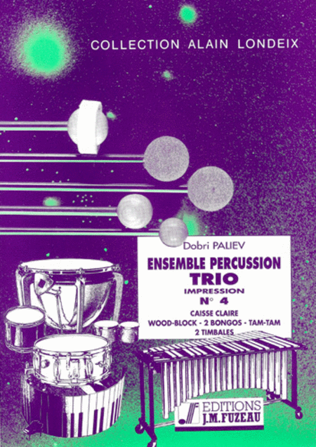 Ensemble percussion trio no.4
