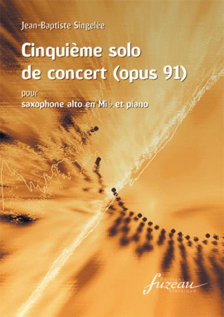 Cinquieme solo de concert (Opus 91)