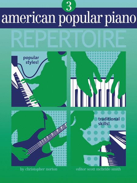 American Popular Piano Repertoire - Level 3 (Book/CD)