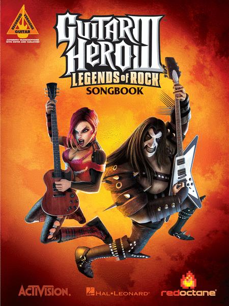 guitar hero iii legends of rock sheet music by various sheet music plus. Black Bedroom Furniture Sets. Home Design Ideas