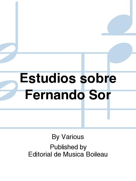 Estudios sobre Fernando Sor