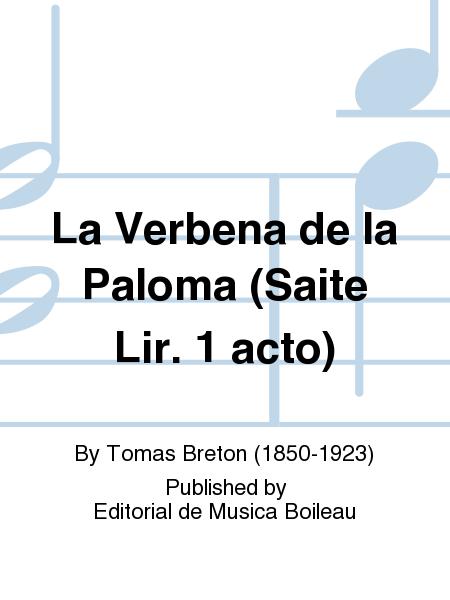 La Verbena de la Paloma (Saite Lir. 1 acto)