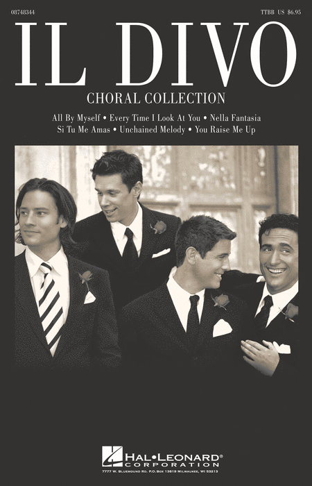 Il divo sheet music by il divo sheet music plus - Il divo songs ...