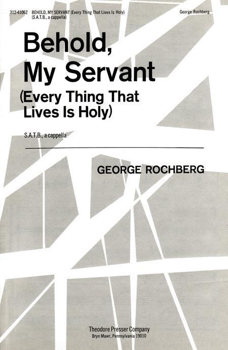 Behold, My Servant
