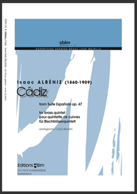 Cadiz from Suite Espanola op. 47