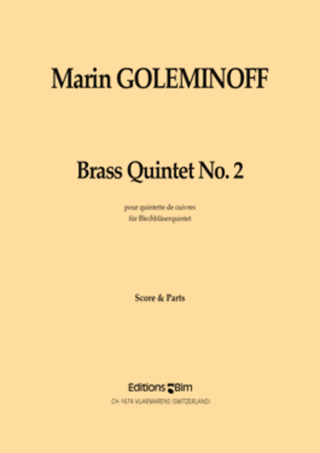 Brass Quintet No. 2