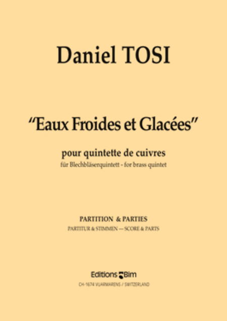 Eaux Froides et Glacees