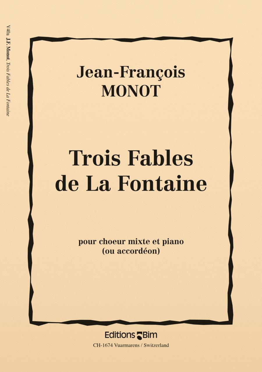 Trois fables de La Fontaine