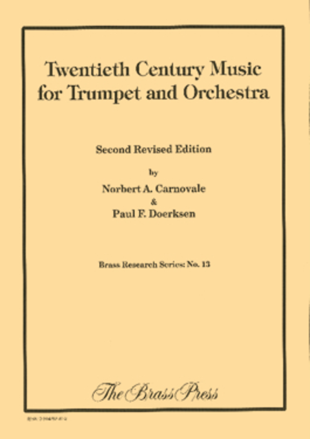 20th Century Music for Trumpet and Orchestra
