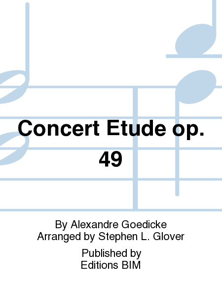 Concert Etude op. 49