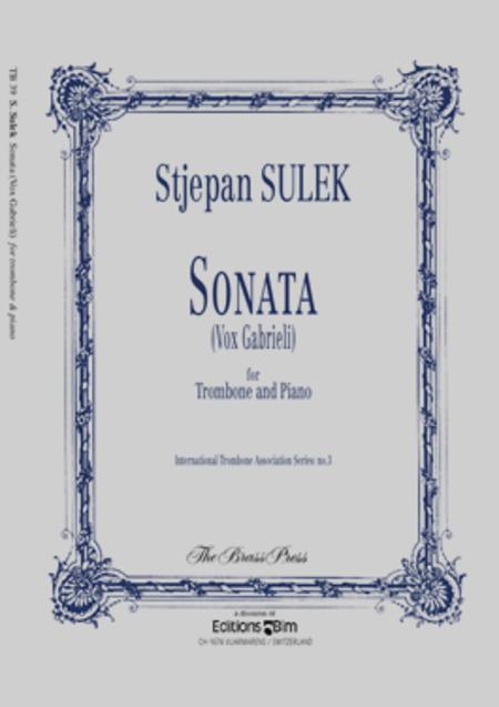 Sonata (Vox Gabrieli)