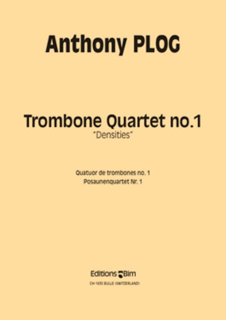 Trombone Quartet No 1