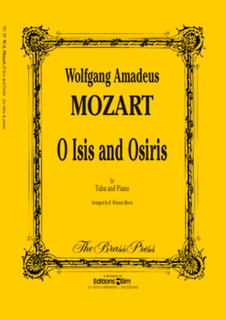 O Isis and Osiris