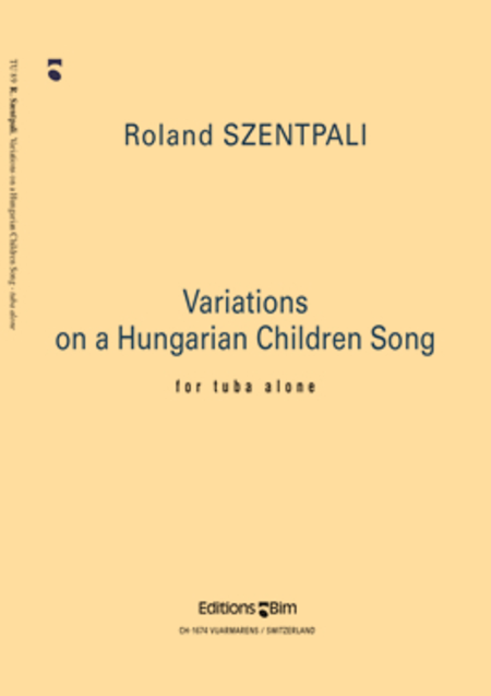 Variations on a Hungarian Children Song