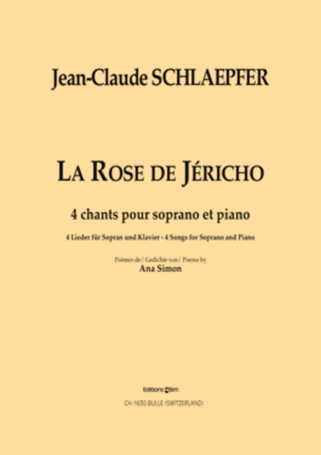 la rose de jericho sheet music by jean claude schlaepfer sheet music plus. Black Bedroom Furniture Sets. Home Design Ideas