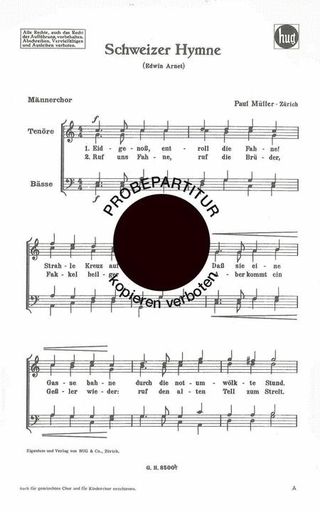 Schweizer Hymne