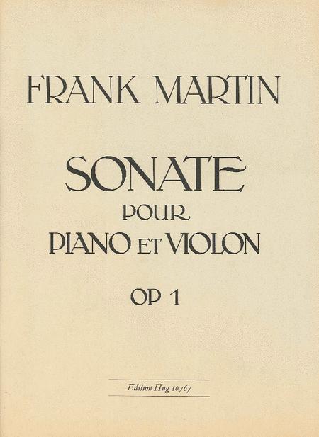 Sonate No 1 (1913)