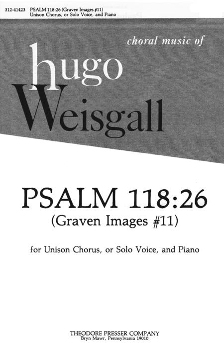 Psalm 118:26