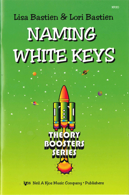 Bastien Theory Boosters: Naming White Keys