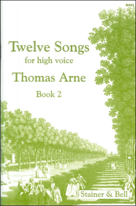 Twelve Songs for High Voice - Book 2